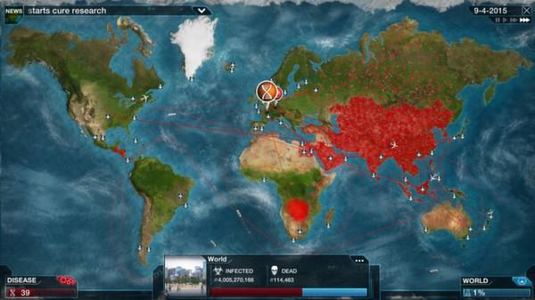 Plague Inc. Küresel Salgından Kurtulmaya Çalıştığınız Bir Mod Ekliyor