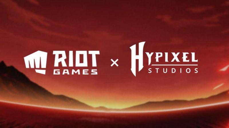Hypixel Studios Riot Games Bünyesine Dahil Oldu