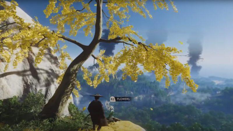 Ghost of Tsushima PS4 Oynayış Videosu Yayınlandı