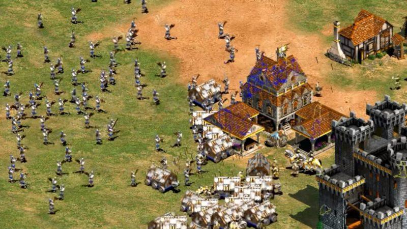 Age of Empires II Definitive Edition Çinliler Kale Askeri CHU KO NU