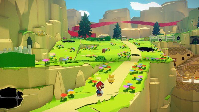 Kağıt Mario: Origami Kral Nintendo Switch İçin Tanıtıldı