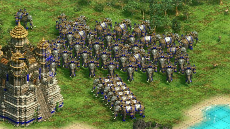 Aoe2 Kmerler Kale Askeri Balistalı Fil