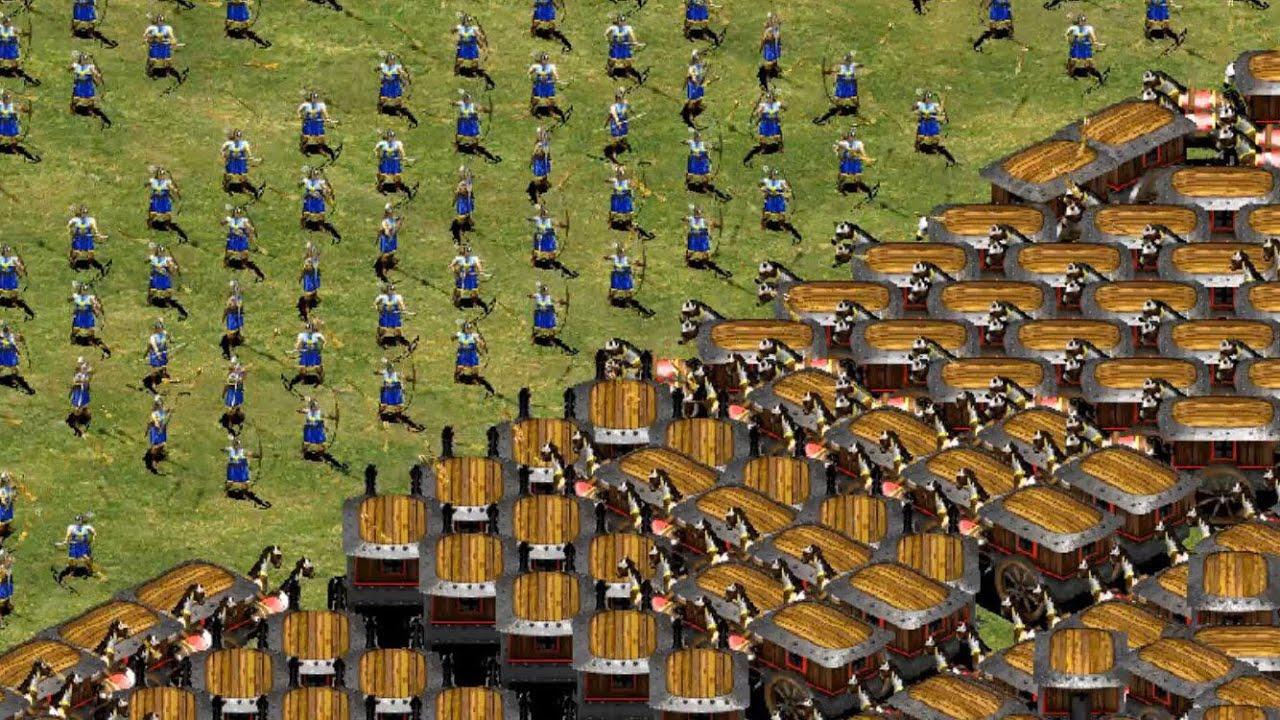 Age of Empires II Definitive Edition Koreliler Savaş Vagonu