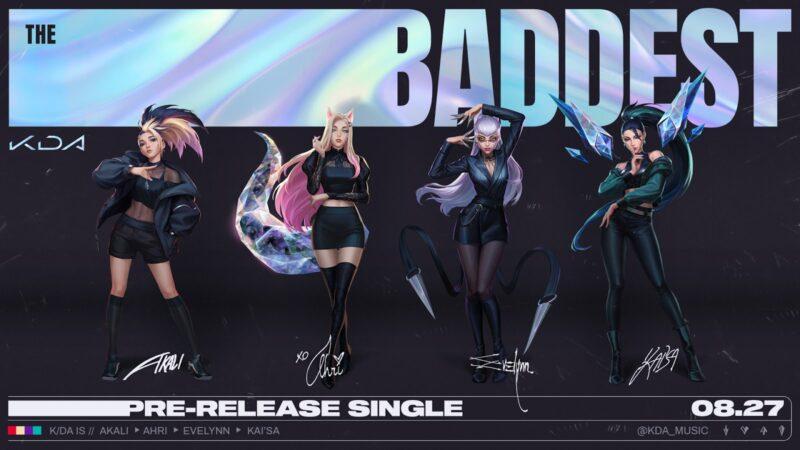 K/DA Grubunun Yeni Şarkısı Çıktı | League of Legends