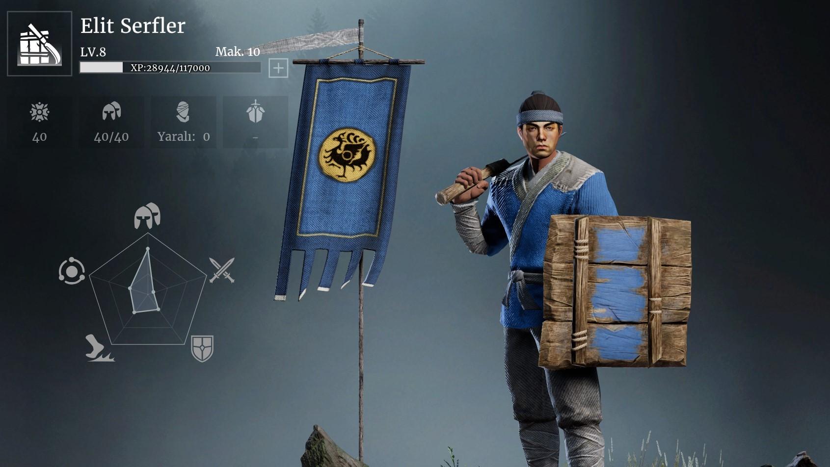 Toplama Rehberi #1 En İyi Toplayıcı Birim   Conqueror's Blade