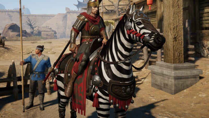 Havalı Zebra Atı Nasıl Alınır? | Conqueror's Blade