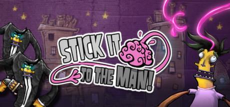 Stick It To The Man! Epic Games Store Üzerinde Ücretsiz