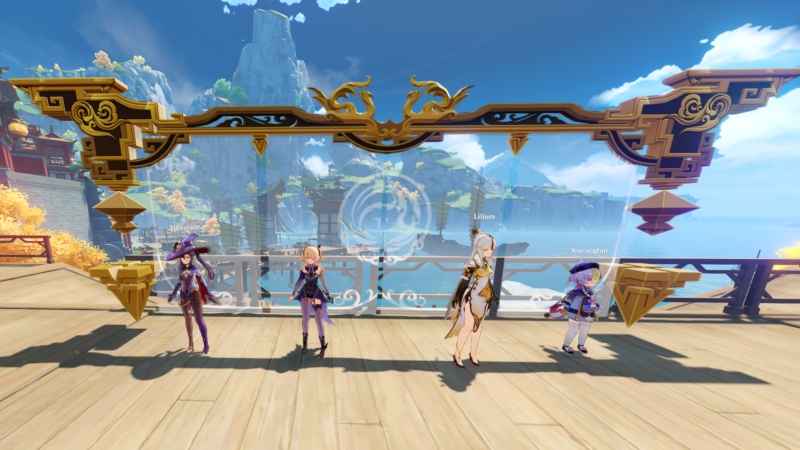 Arkadaşlarınızla Nasıl Birlikte Co-Op Oynanır   Genshin Impact