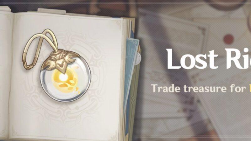 "Yeni Etkinlik ""Lost Riches"" Mini Seelie için Ticaret Hazinesi!   Genshin Impact"