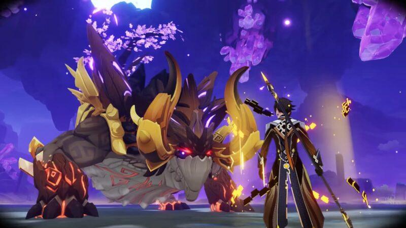Yeni Boss Azhdaha ve Daleth   Genshin Impact