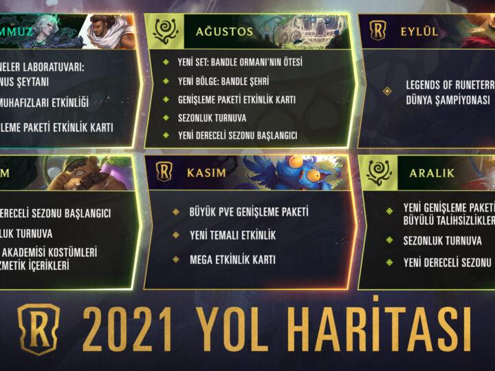 Legends of Runeterra 2021 Yol Haritası Çıktı – Bandle Şehri Geliyor