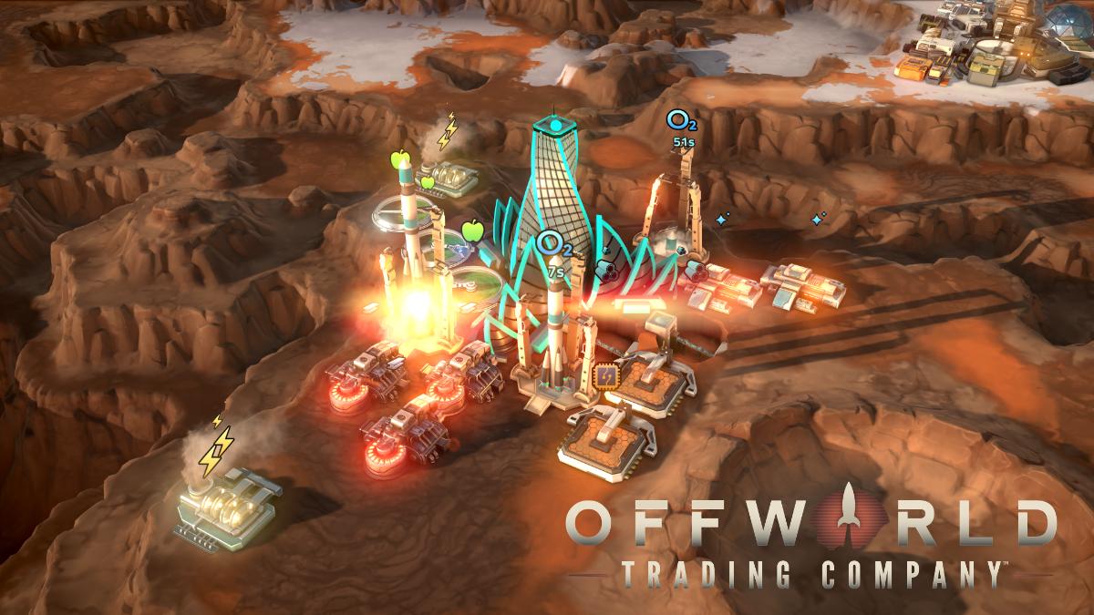Offworld Trading Company Epic Games Store Üzerinde Ücretsiz