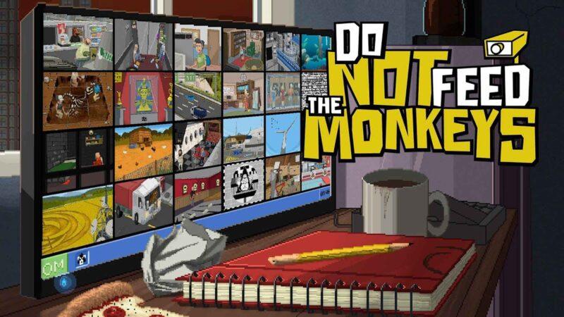 İnteraktif Olmayan Tüm Kameralar   Do Not Feed the Monkeys