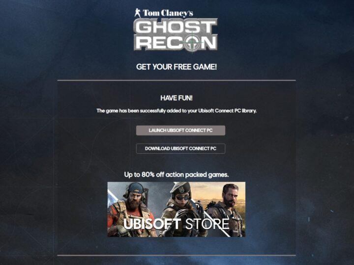 Ghost Recon Uplay Üzerinde Ücretsiz